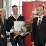 Auszeichnung durch Heiko Maas als Deutschlands erster Q-Siegel Betrieb der Branche