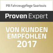 """Auszeichnung als Kundenempfehlung - Über 95% Empfehlungen und zusätzlich die Note """"sehr gut"""""""