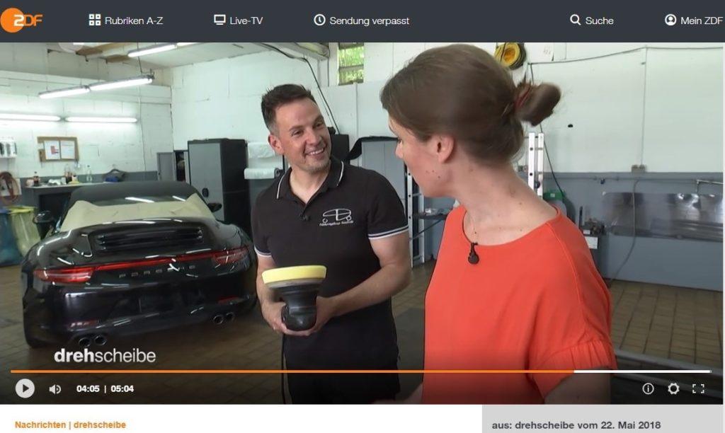 ZDF Reportage über PB Fahrzeugpflege Saarlouis
