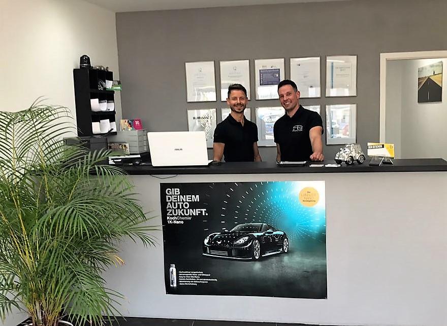 Thomas Paul & Karsten Becker, die Firmengründer der PB Fahrzeugpflege Saarlouis